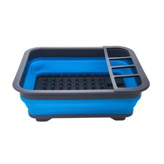 Excellent Houseware Katlanır Bulaşıklık - Mavi