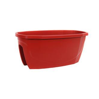 Serinova Zümrüt Saksı - Kırmızı - 15,5 lt