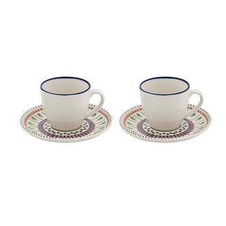 Tulu Porselen Renaissance 2'li Kahve Seti