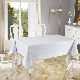 Tabe Honey Tablecholts Set Masa Örtüsü  - 160x220 cm - Beyaz