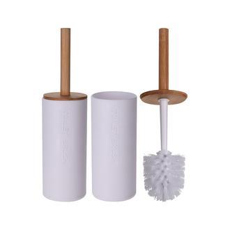AquaLuna Bambu Klozet Fırçası - Beyaz