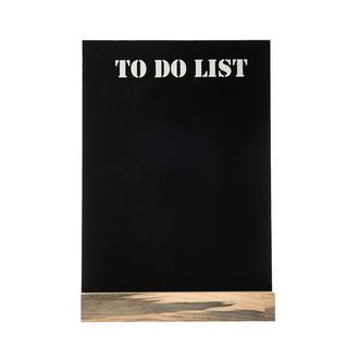 Retro Time To Do List Kara Tahta Pano