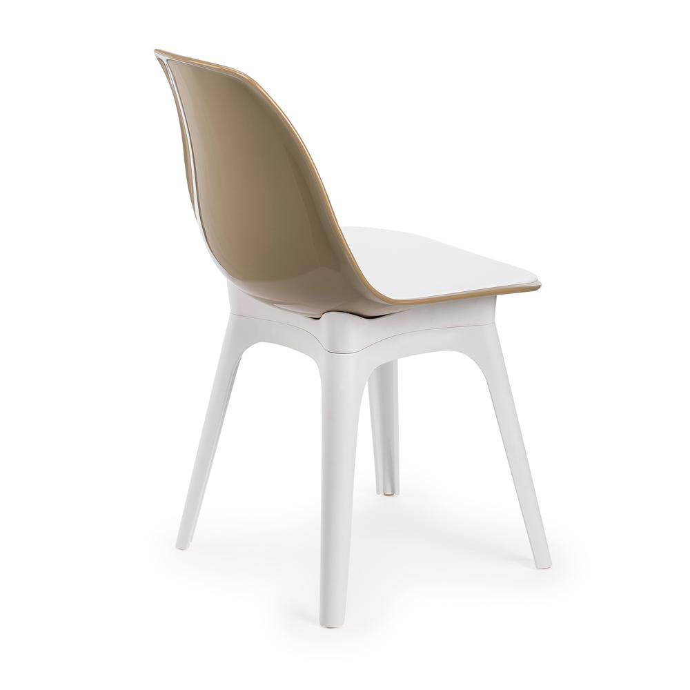 Tilia Eos Çok Amaçlı Sandalye - Beyaz - Kum Beji