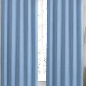 Premier Home FR Blackout Perde - Açık Mavi - 140x270 cm