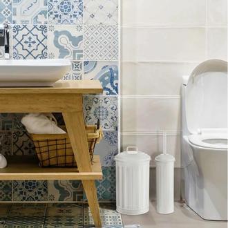 The Mia Banyo Çöp Kovası  5 Litre - Beyaz