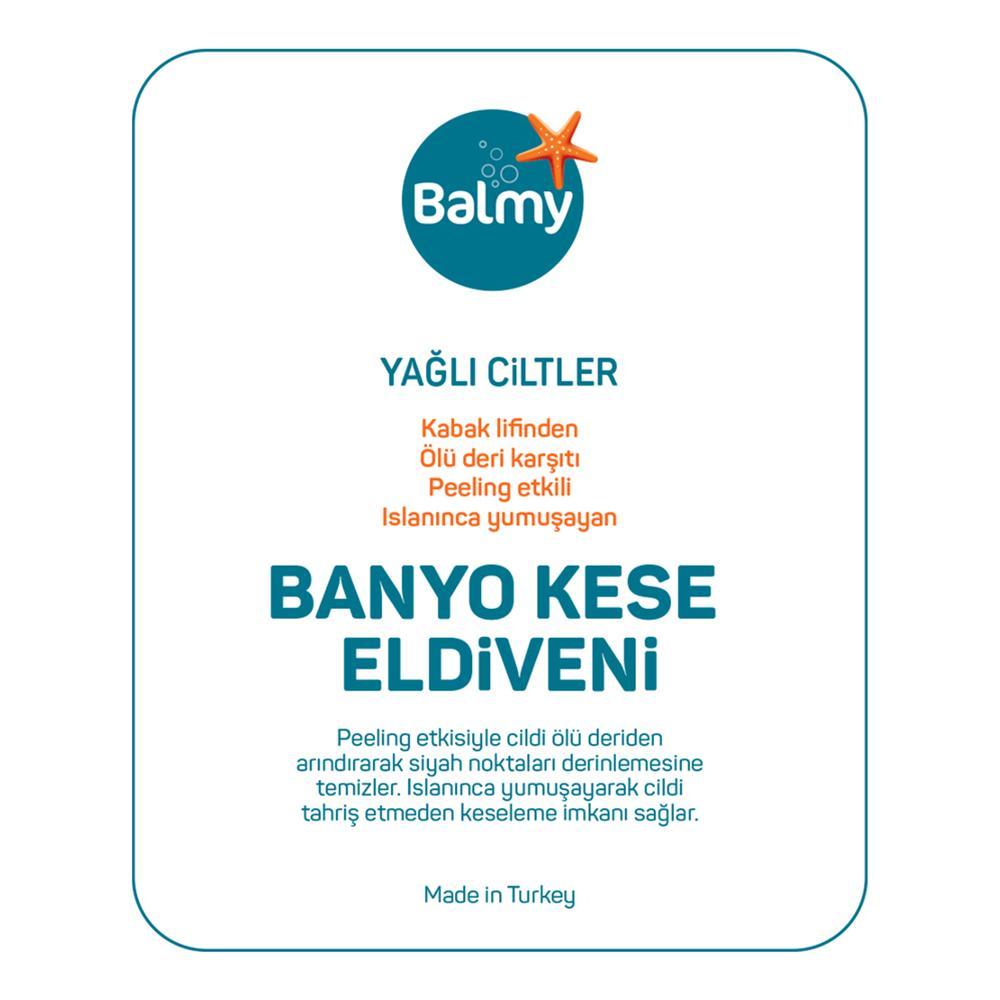 Balmy Loofah Havlu Banyo Eldiveni