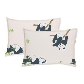 Simple Life Sarev Panda 2'li Yastık Kılıfı