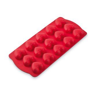 Silicolife Kalp Buz ve Çikolata Kalıbı - Kırmızı