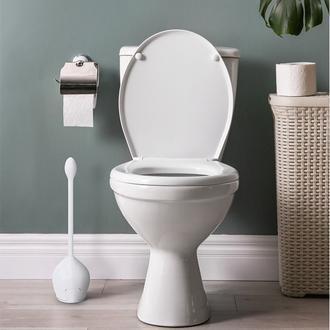 Primanova Lotus Tuvalet Fırçası - Beyaz