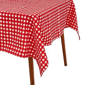 Premier Home Tartan Masa Örtüsü - Kırmızı - 150x220 cm