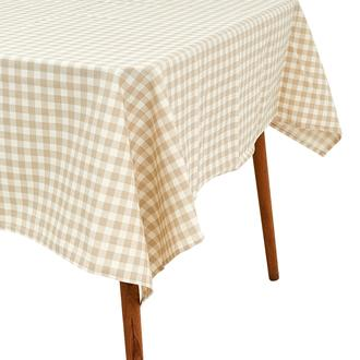 Premier Home Tartan Masa Örtüsü - Bej - 150x220 cm