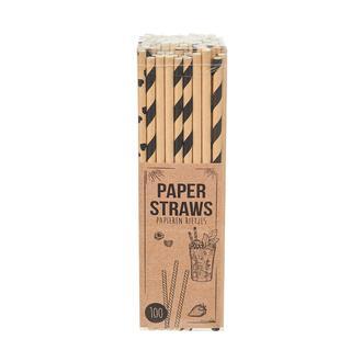 Excellent Houseware 100'lü Kağıt Pipet