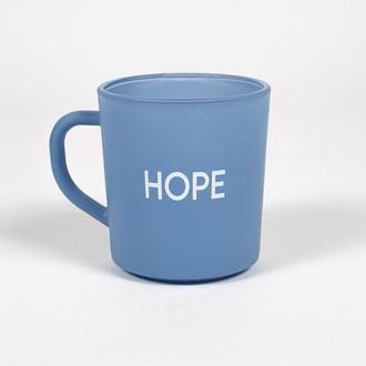 Rakle Motto Hope Kupa - Mavi/260 ml