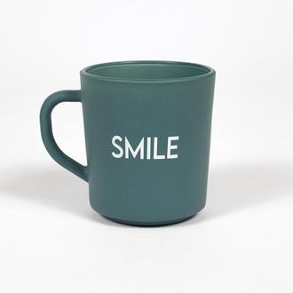 Rakle Motto Smile Kupa - Yeşil/260 ml