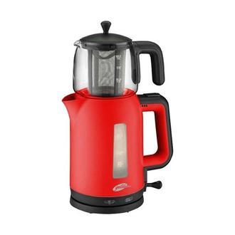 Goldmaster Papatya GM-7321 Çay Makinesi - Kırmızı