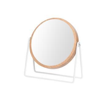 AquaLuna Ahşap Çerçeveli Banyo ve Makyaj Aynası