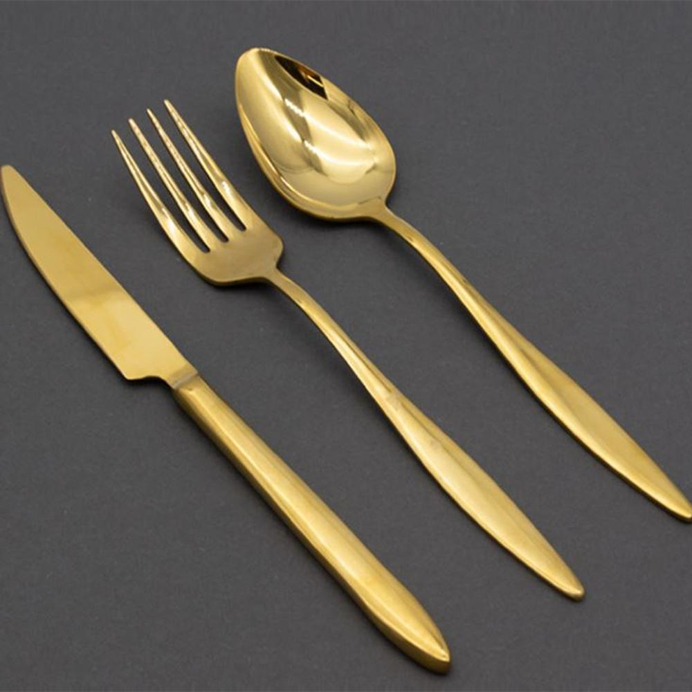Solingen Arina Gold 18 Parça Çatal Kaşık Bıçak Seti