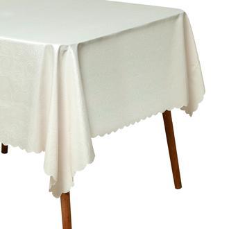 Gofre Embossed Masa Örtüsü - 150x180 cm - Krem