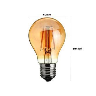Heka A60 6W Bal E27 2500K Gün Işığı Ampul