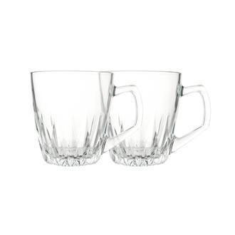 Paşabahçe 55713 Safir 2'li Kulplu Çay Fincanı - 250 ml