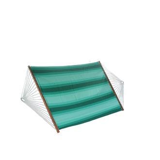 Altınoluk Tek Kişilik Bez Hamak - Yeşil /Beyaz