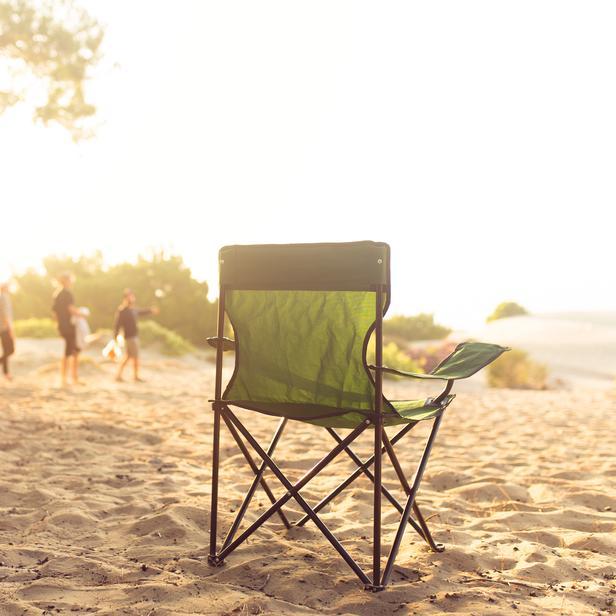 Simple Living Katlanır Kamp, Plaj ve Piknik Sandalyesi - Yeşil