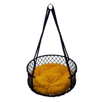 Altınoluk 60'Lık Davul Salıncak Lacivert ( Sarı Minderli )