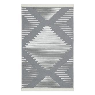 Eko Halı Arya Kilim (Beyaz/Gri) - 160x230 cm