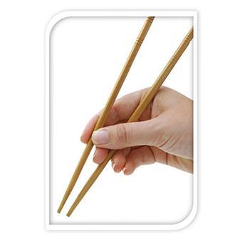 Excellent Houseware Bambu 12'li Chopstick - Asorti