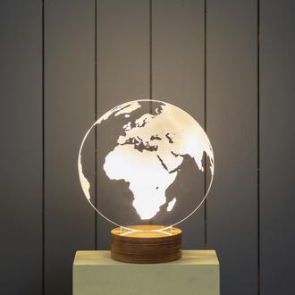Bylamp World 3 Boyutlu Dekoratif Aydınlatma