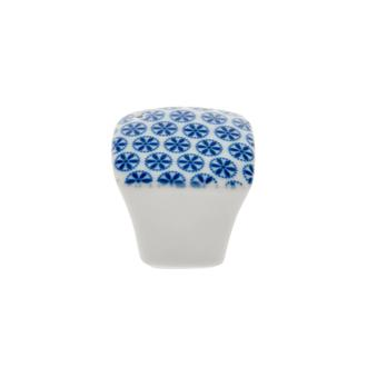 Porland Blue Porselen Tuzluk Biberlik - Mavi - 4,7 cm