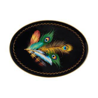 İpek Kuş Tüyü Tepsi - 41x30 cm