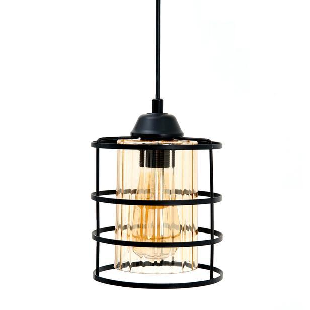 Safir Light Fener Avize -  Siyah