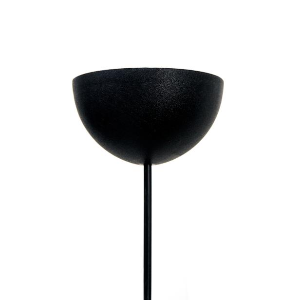 Safir Light Şapka Avize -  Siyah