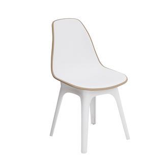 Tilia Eos Çok Amaçlı Sandalye - Beyaz/Kum Beji