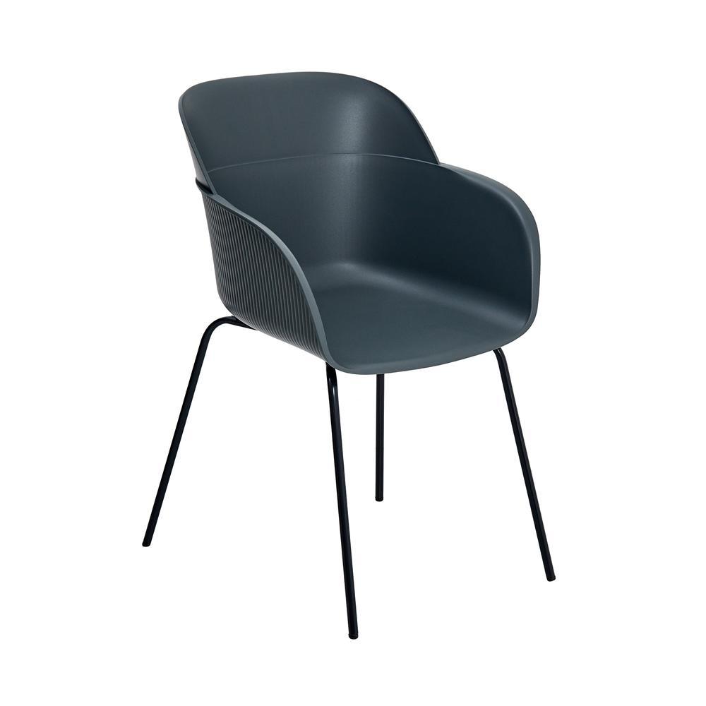 Tilia Shell Modern Sandalye - Duman / Duman