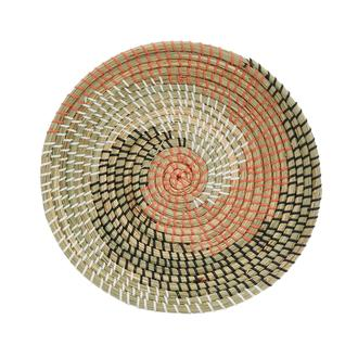 Lorin Dekoratif Hasır Duvar Tabağı 35 cm
