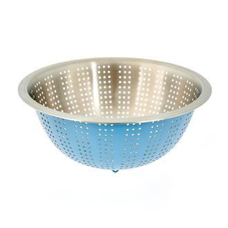 Excellent Houseware Çelik Süzgeç- Mavi/28 cm