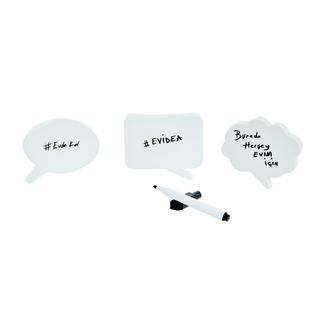 Q-Art Mıknatıslı 4lü Magnet Notluk