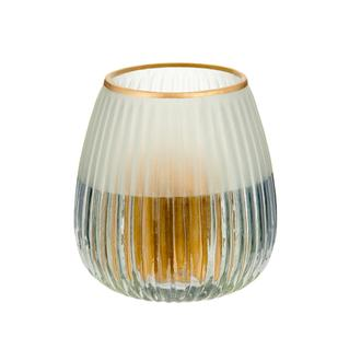 Q-Art Cam Tealight Mumluk - 9,5x9,5x9,5 cm