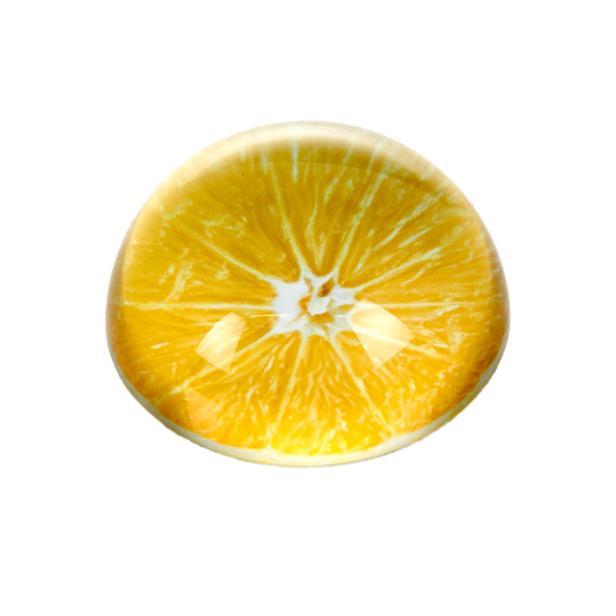 Q-Art Meyve Desen Kağıt Ağırlığı - Asorti