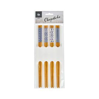 Excellent Houseware 8 Parça Bambu Chopstick - 12 cm