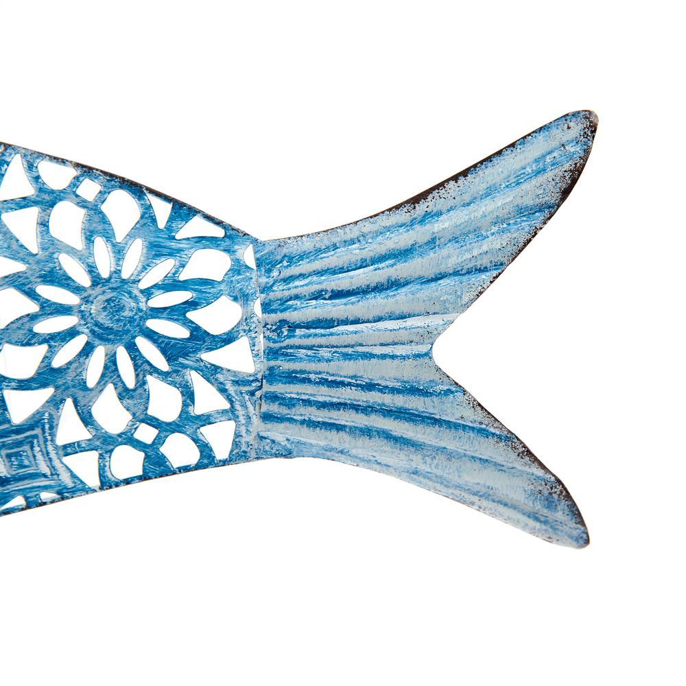 Q-Art Balık Şekilli Dekoratif Obje - Asorti