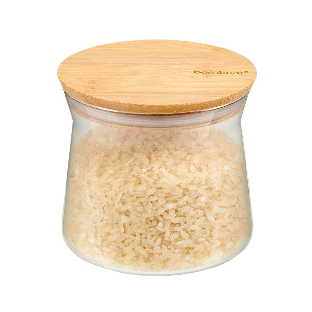 Bambum Olla Kapaklı Kavanoz - 600 ml