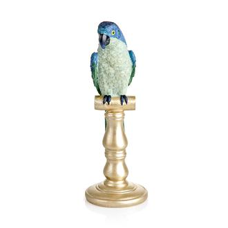 Q-Art Dekoratif Papağan Biblo - Asorti