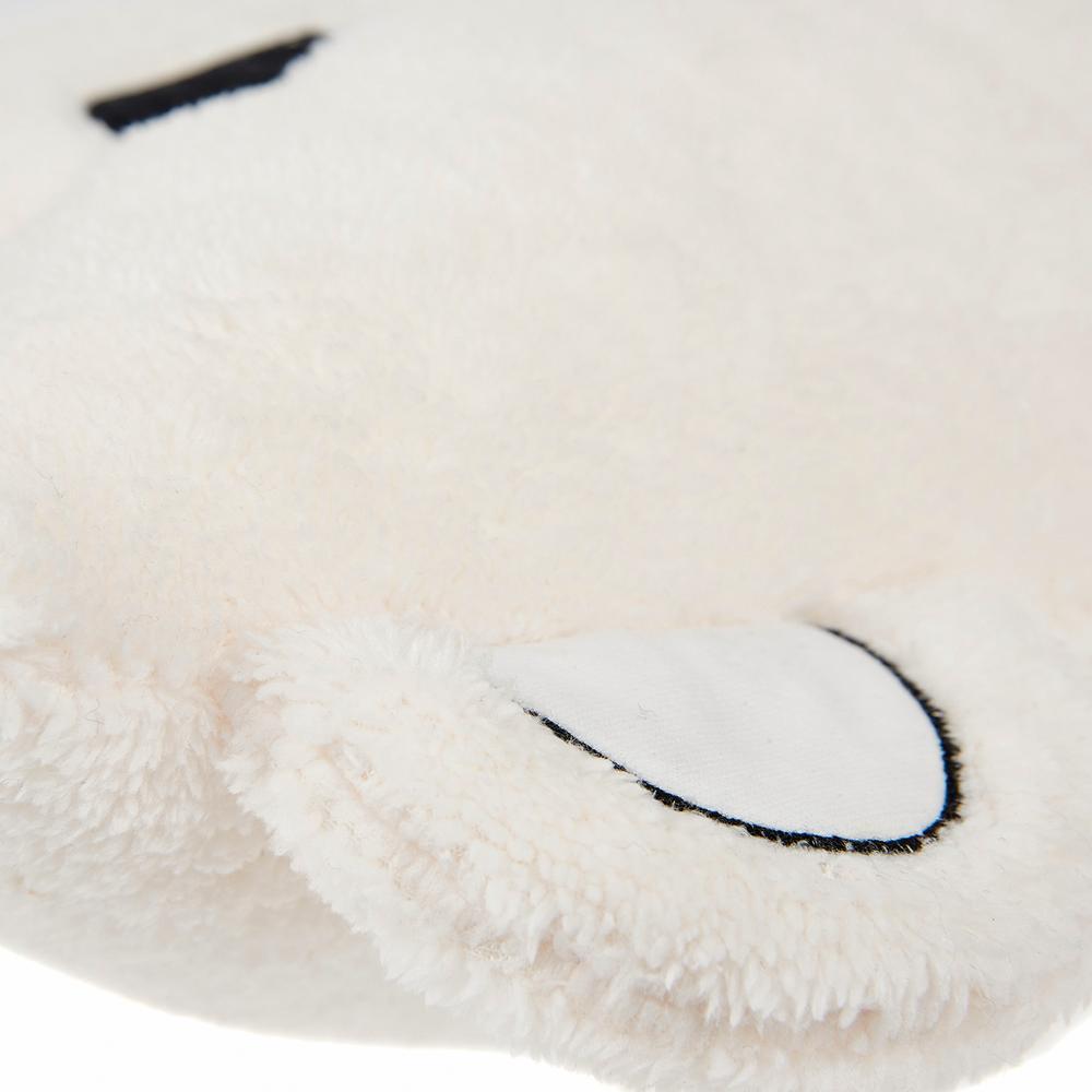 Nuvomon Bear Figürlü Yastık - Ekru