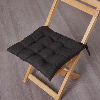 Nuvomon Milpa Sandalye Minderi - Füme - 40x40 cm
