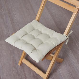 Nuvomon Milpa Sandalye Minderi - Taş - 40x40 cm