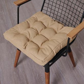 Nuvomon Milpa Sandalye Minderi - Bej - 45x45 cm