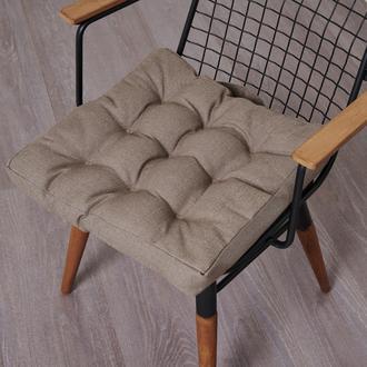Nuvomon Milpa Sandalye Minderi - Vizon - 45x45 cm